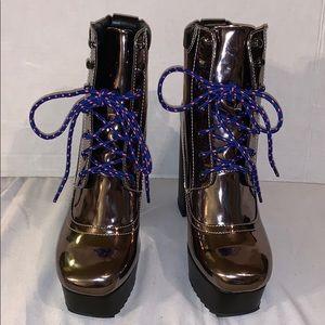 New Shellys London platform boots size - 7.5